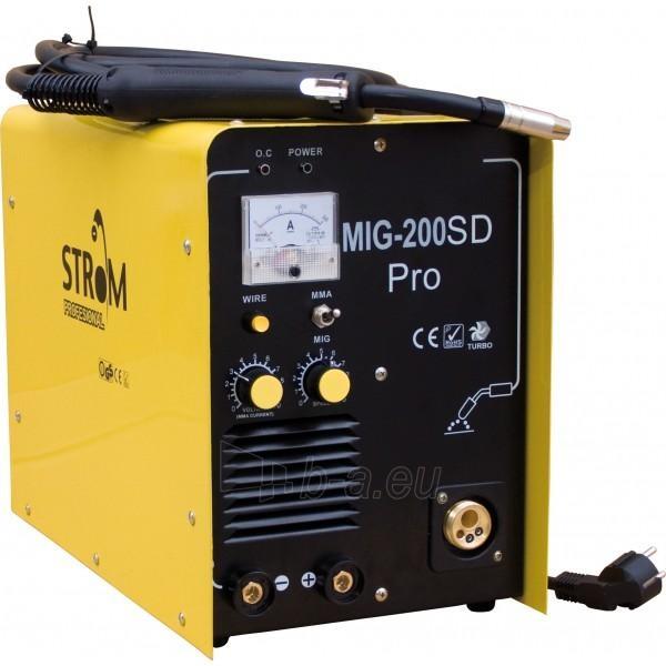 semiautomatic welding ir inverteris Strom MIG-240SD PRO Paveikslėlis 1 iš 1 225271000186