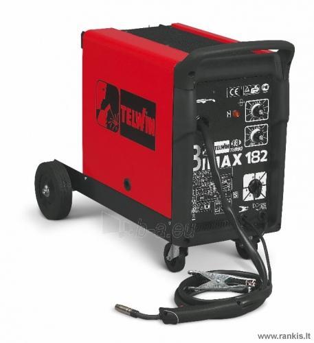 Suvirinimo pusautomatis TELWIN Bimax 182 Turbo Paveikslėlis 1 iš 1 310820017680