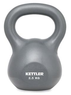 Svarstis BASIC KETTLER BELL 2,5kg grey Paveikslėlis 1 iš 1 310820027589