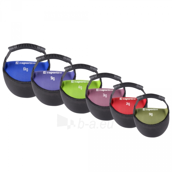 Svarstis inSPORTline Bell-bag 6 kg Paveikslėlis 1 iš 1 250574000481