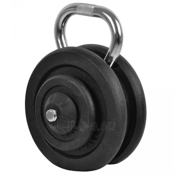 Svarstis inSPORTline KETLEBEL 10-35 kg, reguliuojamas Paveikslėlis 1 iš 3 250574000389