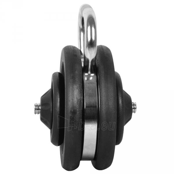 Svarstis inSPORTline KETLEBEL 10-35 kg, reguliuojamas Paveikslėlis 2 iš 3 250574000389