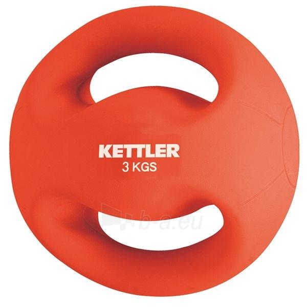 Svarstis Kettler FITNESS BALL 3kg red Paveikslėlis 1 iš 1 310820027581