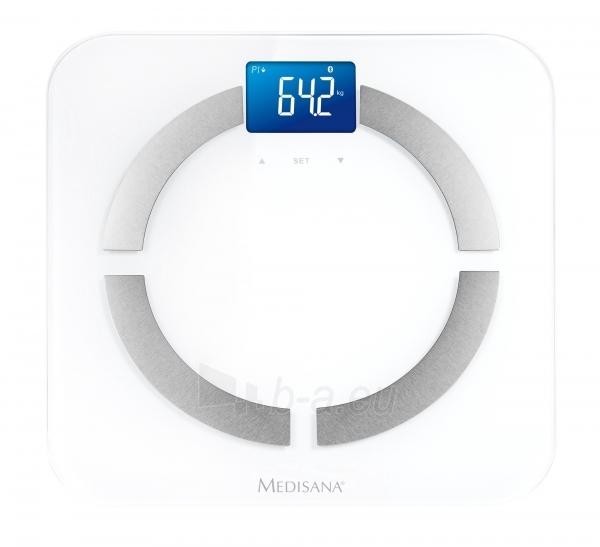 Svarstyklės Medisana BS430 40422 No Bluetooth, USED Paveikslėlis 1 iš 2 310820230259