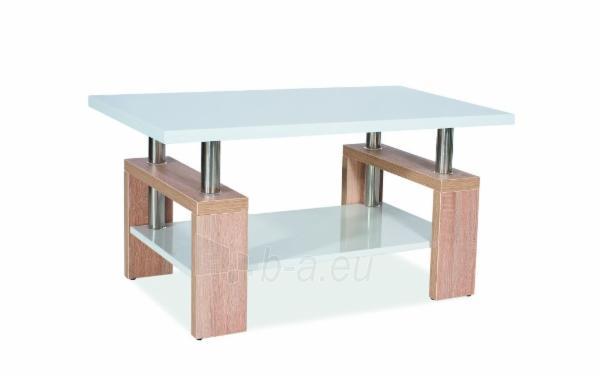 Svetainės staliukas Bis MDF balta Paveikslėlis 1 iš 1 310820018483