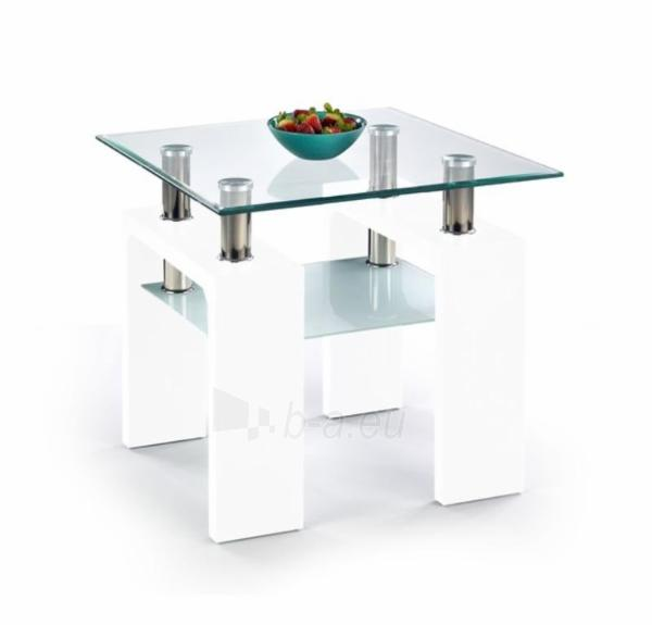 Svetainės staliukas Diana H kvadratas lakuotas Paveikslėlis 1 iš 2 310820016022
