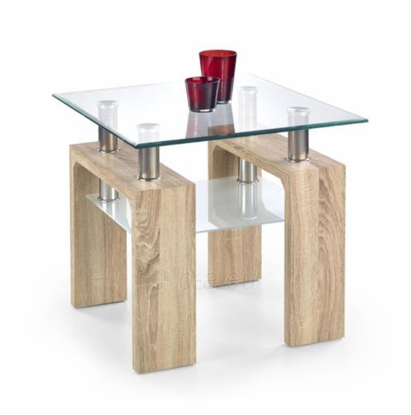 Svetainės staliukas Diana H kvadratas Paveikslėlis 2 iš 2 310820016020