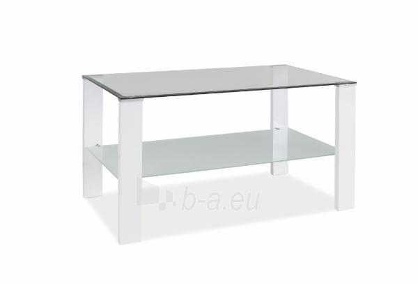 Svetainės staliukas Karina C balta Paveikslėlis 1 iš 1 310820018477