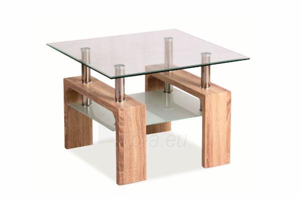 Svetainės staliukas Lisa D Basic sonoma Paveikslėlis 1 iš 1 310820018653