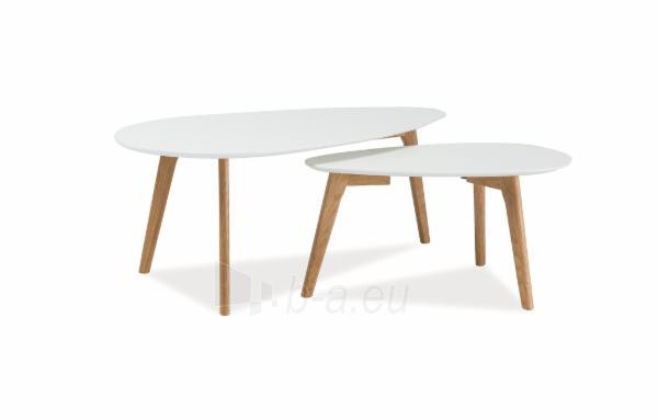 Svetainės staliukas Milan L2 Paveikslėlis 1 iš 1 310820018704