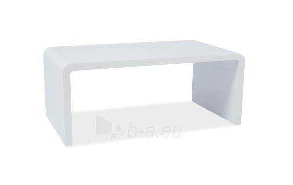 Svetainės staliukas Mio balta lakuota Paveikslėlis 1 iš 1 310820018860