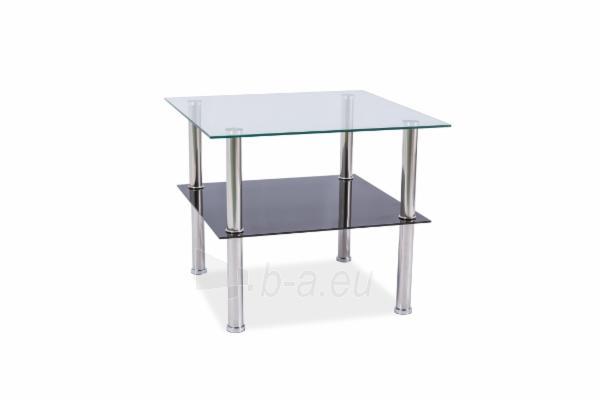 Svetainės staliukas Tessa 60x60x55 Paveikslėlis 1 iš 1 310820021633