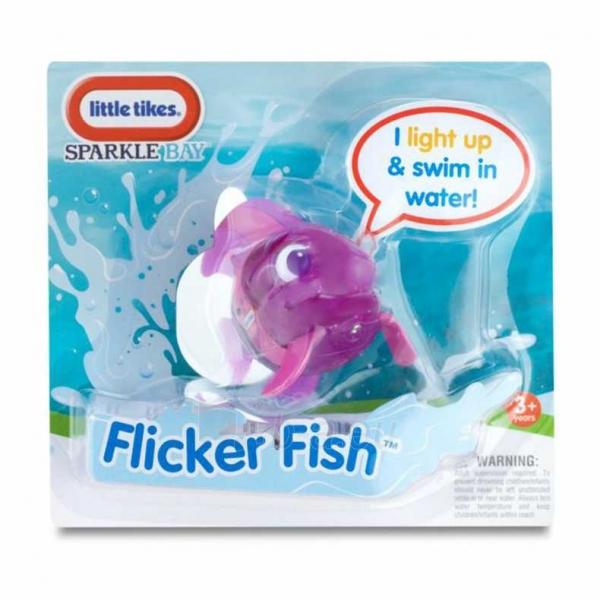 Šviečianti violetinė vonios žuvytė | Sparkle Bay | Little Tikes Paveikslėlis 4 iš 4 310820003548