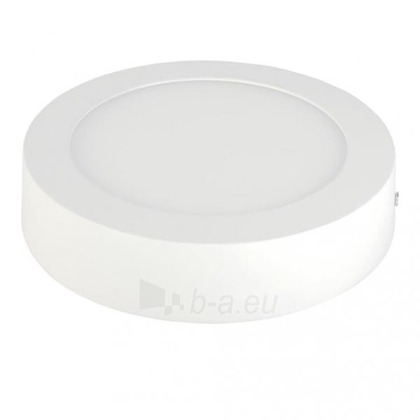 Šviestuvas ART LED on plaster panel, round, 12*3.5cm, 6W, WW 3000K Paveikslėlis 2 iš 8 310820049414