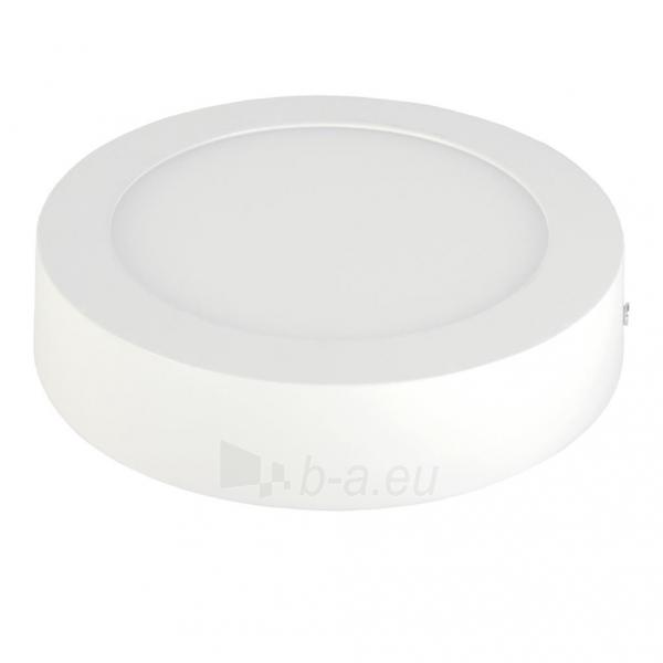Šviestuvas ART LED on plaster panel, round, 18*3.5cm, 12W, W 4000K Paveikslėlis 2 iš 8 310820049419
