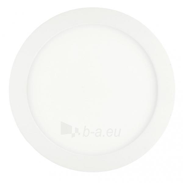 Šviestuvas ART LED on plaster panel, round, 24*3.5cm, 18W, W 4000K Paveikslėlis 1 iš 8 310820049420