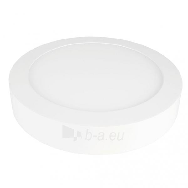 Šviestuvas ART LED on plaster panel, round, 24*3.5cm, 18W, W 4000K Paveikslėlis 2 iš 8 310820049420
