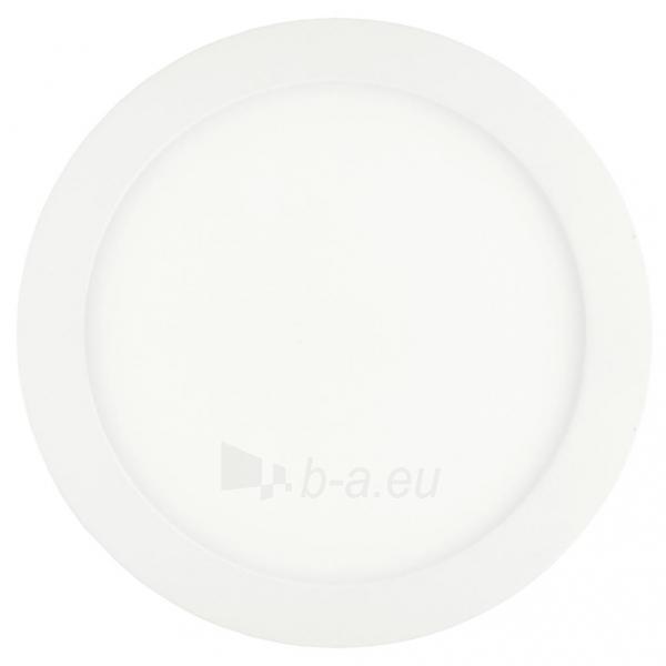Šviestuvas ART LED on plaster panel, round, 30*4cm, 25W, WW 3000K Paveikslėlis 1 iš 8 310820049405