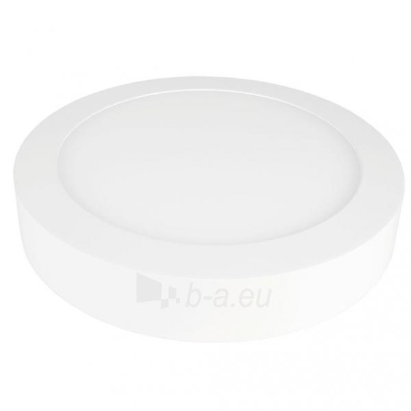 Šviestuvas ART LED on plaster panel, round, 30*4cm, 25W, WW 3000K Paveikslėlis 2 iš 8 310820049405