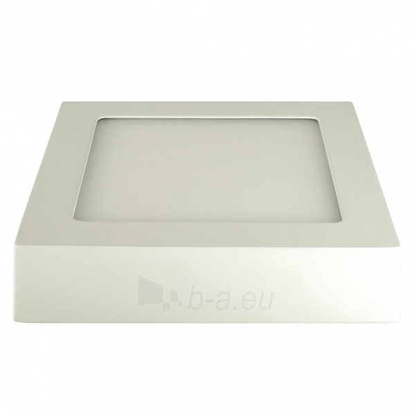 Šviestuvas ART LED on plaster panel, square, 12*3.5cm, 6W, W 4000K Paveikslėlis 2 iš 7 310820049412