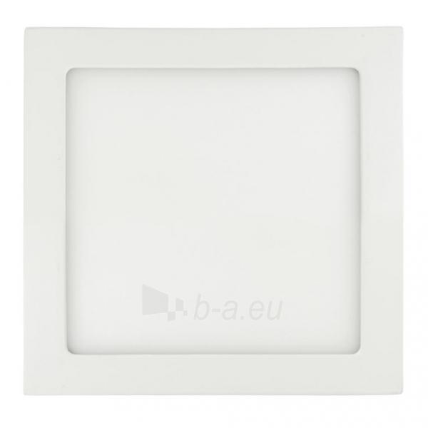 Šviestuvas ART LED on plaster panel, square, 24*3.5cm, 18W, WW 3000K Paveikslėlis 1 iš 7 310820049404
