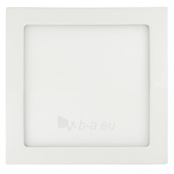 Šviestuvas ART LED on plaster panel, square, 30*4cm, 25W, WW 3000K Paveikslėlis 1 iš 7 310820049408