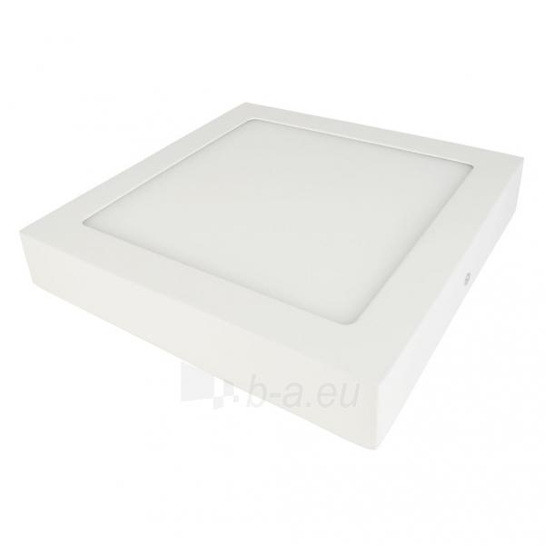 Šviestuvas ART LED on plaster panel, square, 30*4cm, 25W, WW 3000K Paveikslėlis 2 iš 7 310820049408