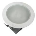 Šviestuvas E27, 40W, IP44, įleidžiamas, apvalus, baltas, matinis stiklas, Northcliffe URSA SOP Paveikslėlis 1 iš 1 224115000274