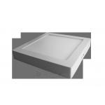 Šviestuvas LED 18W, IP20, 230V, paviršinis, kvadratinis, baltas, matinis, 1440lm, 4500K, d220x220x38mm, PTNC 2255 Paveikslėlis 1 iš 2 310820054900