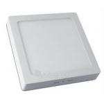 Šviestuvas LED 19W, IP20, paviršinis, kvadratinis, baltas, matinis, 1520lm, 3000K, d225x200mm, MATIS, GTV LD-MAN19W-CB Paveikslėlis 1 iš 1 224116000106