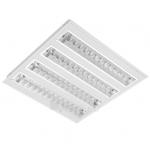 Šviestuvas LED 39W, IP20, įleidžiamas, baltas, 3900lm(100lm/1W), 4000K, 60x60cm, su integruotu LED, IS, MODUS ISRAC4KV4V160/ND140013 Paveikslėlis 1 iš 1 310820072588