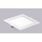 Šviestuvas LED 3W, IP20, 230V, įleidžiamas, kvadratinis, baltas, matinis, 195lm, 3500K, d85x85x22mm, PTNC 2446 Paveikslėlis 1 iš 1 310820055130