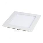 Šviestuvas LED 3W, IP20, 230V, įleidžiamas, kvadratinis, baltas, matinis, 195lm, 4500K, d85x85x22mm, PTNC 2445 Paveikslėlis 1 iš 1 310820054804