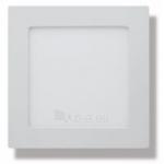 Šviestuvas LED 7W, IP54, 230V, įleidžiamas, kvadratinis, baltas, matinis, 560lm, 4500K, MATIS, GTV LD-MAW07W-NB Paveikslėlis 1 iš 1 310820054949