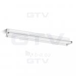 Šviestuvas LED T8/G13, 2x18W, IP20, paviršinis, atviras, 120cm, vienpusio pajungimo, siauras, GTV OS-OSL2120S-00 Paveikslėlis 1 iš 1 310820055169