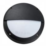 Šviestuvas sodo E27 13W, IP54, AC 230V, tvirt. prie sienos, apvalus, juodas, su baltu matiniu stiklu, LAMPRIX LP-14-059 Paveikslėlis 1 iš 1 310820072444