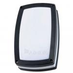 Šviestuvas sodo E27 23W, IP54, AC 230V, tvirt. prie sienos, juodas, su baltu matiniu stiklu, LAMPRIX LP-14-053 Paveikslėlis 1 iš 1 310820072492