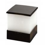 Šviestuvas sodo LED, 4W, 4000K, IP54, AC 230V, 240lm, tvirt. prie sienos, juodas, su PC matiniu stiklu, LAMPRIX LP-14-032 Paveikslėlis 1 iš 1 310820055209