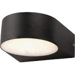 Šviestuvas sodo LED, 6W, 4000K, IP44, AC 230V, 340lm, tvirt. prie sienos, juodas, grūdintas stiklas, LAMPRIX LP-14-037 Paveikslėlis 1 iš 1 310820055210