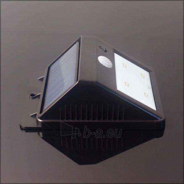 Šviestuvas su saulės baterija PowerNeed Sunen su judesio davikliu IP64 Paveikslėlis 2 iš 8 310820049238