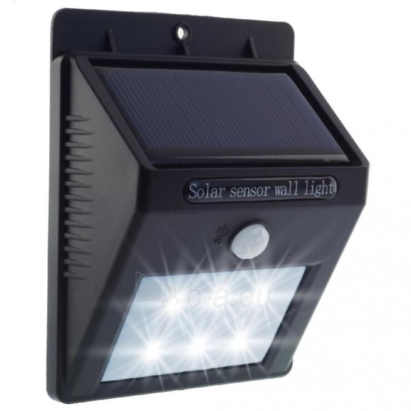 Šviestuvas su saulės baterija PowerNeed Sunen su judesio davikliu IP64 Paveikslėlis 7 iš 8 310820049238