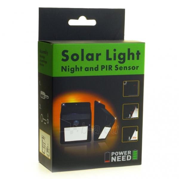 Šviestuvas su saulės baterija PowerNeed Sunen su judesio davikliu IP64 Paveikslėlis 8 iš 8 310820049238