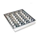 Šviestuvas T8/G13, 4x18W, KVG(starterinis), IP20, įleidžiamas, parabolinis reflektorius, LAMPRIX LP-15-002 Paveikslėlis 1 iš 1 310820055128