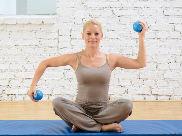 Svoriniai kamuoliai SISSEL® Pilates Toning Ball, 450 g Paveikslėlis 1 iš 1 310820217876