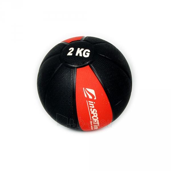 Svorinis kamuolys inSPORTline MB63 2 kg Paveikslėlis 1 iš 2 250520103046
