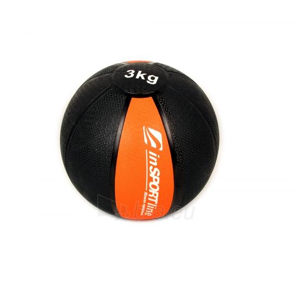Svorinis kamuolys inSPORTline MB63 3 kg Paveikslėlis 1 iš 2 250520103047