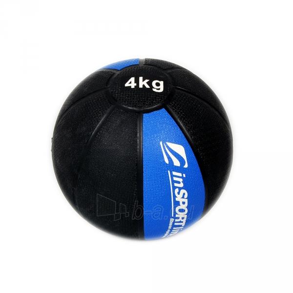 Svorinis kamuolys inSPORTline MB63 4 kg Paveikslėlis 1 iš 2 250520103048