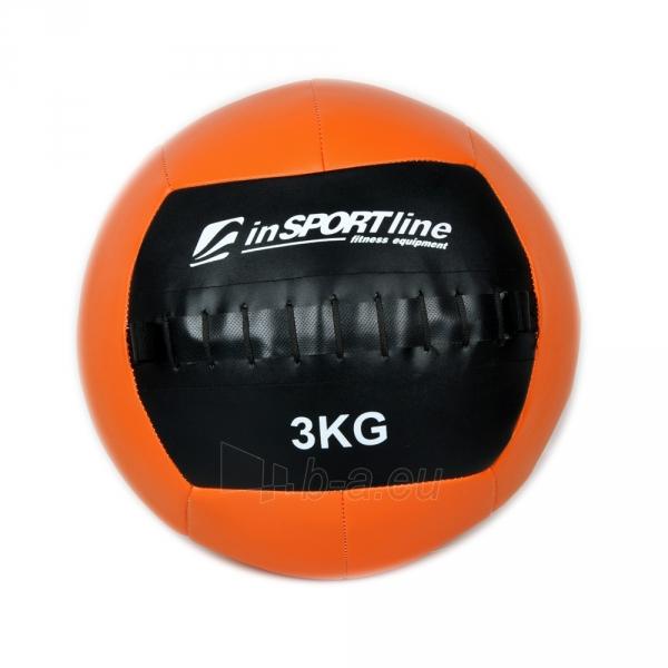 Svorinis kamuolys inSPORTline Walbal 3 kg Paveikslėlis 1 iš 2 250520103053