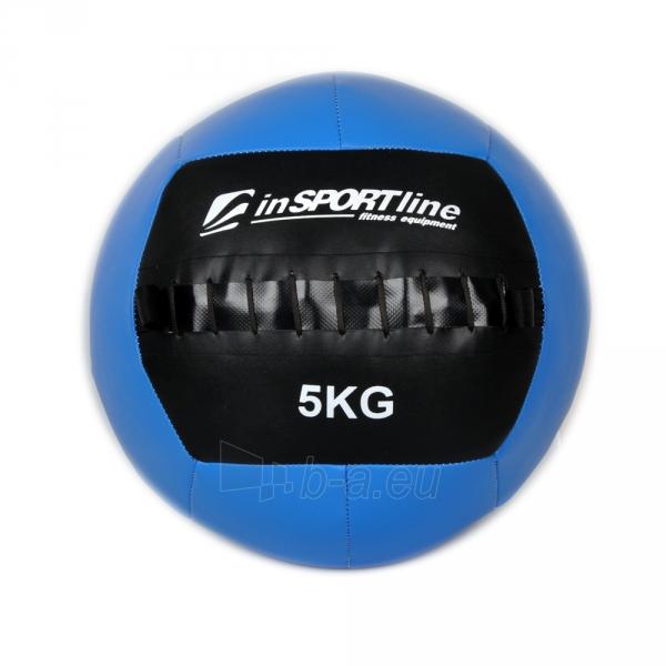 Svorinis kamuolys inSPORTline Walbal 5 kg Paveikslėlis 1 iš 2 250520103054