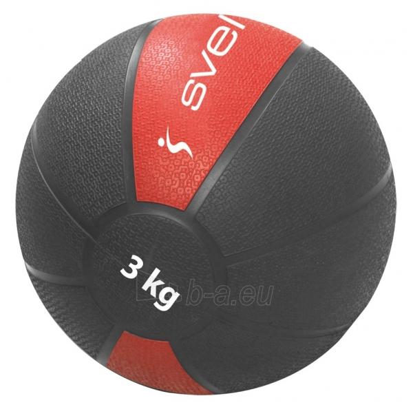 Svorinis kamuolys SVELTUS MEDICINE 3 kg Paveikslėlis 1 iš 1 310820179280